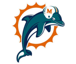 The stupid old Dolphins logo