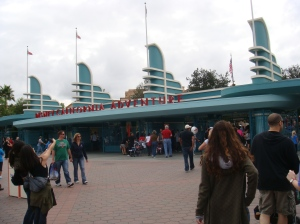 Entrance, Disney's California Adventure