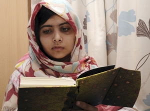 Malala Yousafzai (photo credit: NPR)