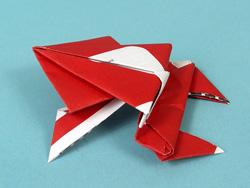 netflix origami frog